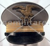 Italian Mountain troops Colonel visor cap.