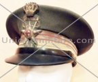 Italian visor cap pattern '34 for a Colonel of the Medical Corp.