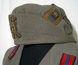 Tunic and visor cap pattern 1940 for an infantry major.