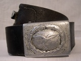 Luftwaffe belt with aluminium buckle