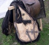 Military saddle WW. 1 used by Cavalleggeri of Saluzzo