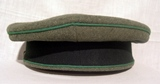 Mountain troops officer's visor cap