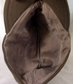 Colonial visor service cap for a cavalry officer.