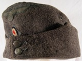 German field cap pattern 1942 for NCOs and privates.