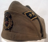 Colonial service cap for a Commissariat leutenent colonel.