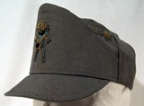 Italian service cap with foldaway visor for Cavalry Officer..