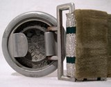 Parade dress belt for a German Army officer.