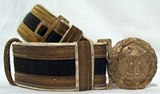 Parade belt for M.V.S.N. officers.