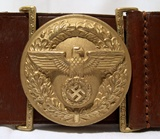 Political belt for members of the NSDAP.