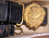 Italian Royal Navy officer's belt