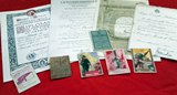 Same holder lot of italian documents and licences.
