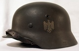 German helmet pattern 1940 for the army (Heer).