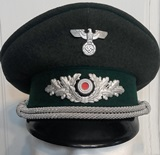 German forestry officer's visor cap.