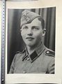 Big size photo of a Waffen SS member.