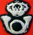 Badge for Italian Cavalry Officer's cap.