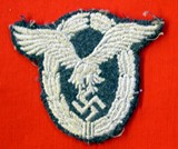German embroidered pilot's badge.