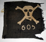 Pennant 605th company gunners of the M.V.S.N.