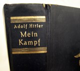"""Mein Kampf"" original edition."