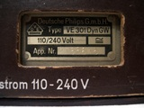 Popular german radio set, medium model.