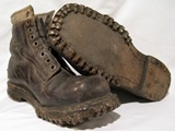 Mountain troops boots.