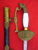 Royal Police officer's parade sword
